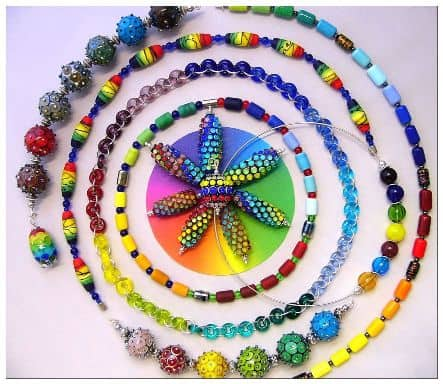 Rainbow series by Heartbeads Studio